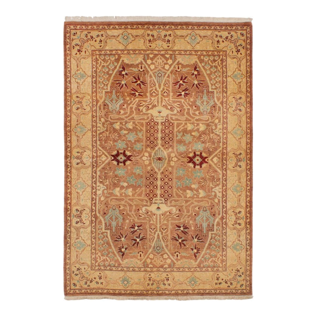 """Classic Hand-Knotted Rug, 5'2"""" X 7'6"""" For Sale"""