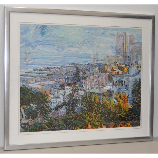 San Francisco from Telegraph Hill Serigraph by Marco Sassone - Image 2 of 6