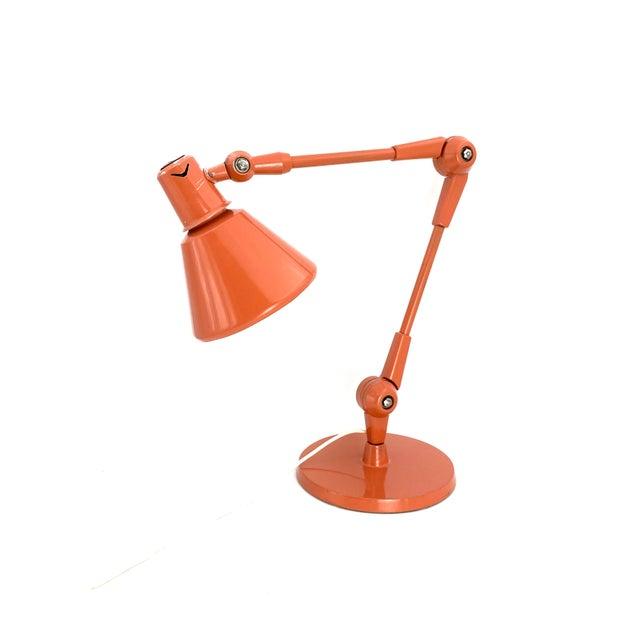 1960s 1960s Stilnovo Mod. Aure Original Painting Pink Table Lamp For Sale - Image 5 of 13