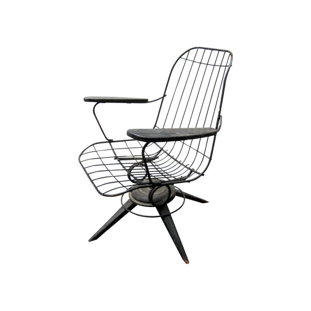 MCM Homecrest Eames Era Bertoia Style Wire Chair - Image 1 of 5