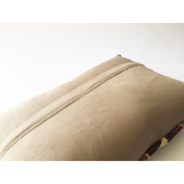 Vintage Kilim Lumbar Pillow - Image 5 of 5