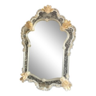 Vintage Venetian Wall Mirror For Sale