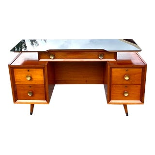 Midcentury Bi Level Desk For Sale