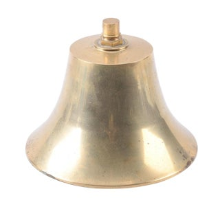 Large Brass Ship's Bell For Sale