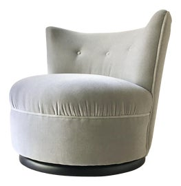 Image of Light Gray Club Chairs