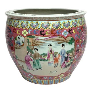 Fine Chinese Famille Verte Fishbowl For Sale