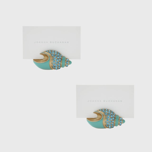 Shell Placecard Holders, Set of Two For Sale In New York - Image 6 of 6