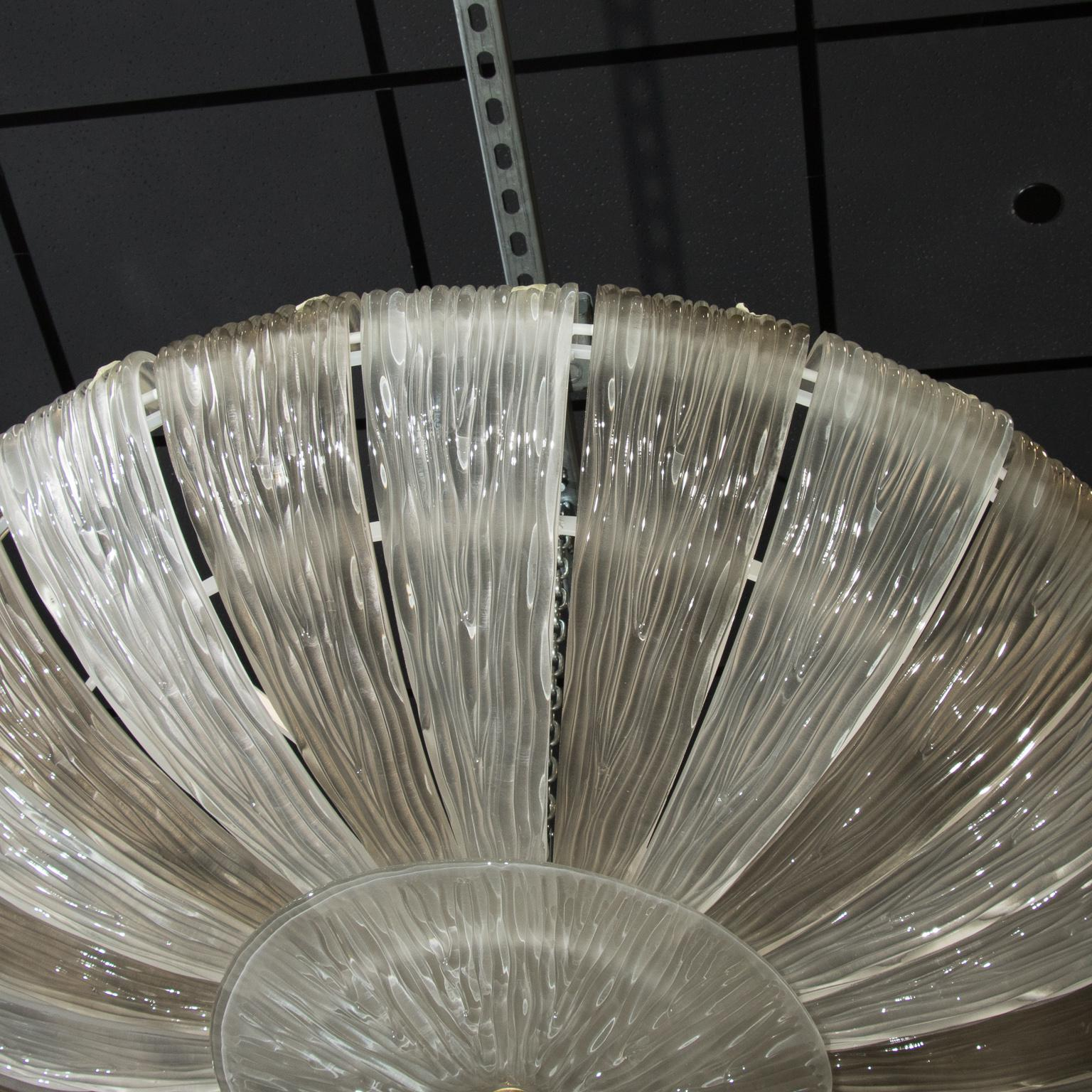 Monumental Barovier U0026 Toso Textured Two Tone Fixture   Image 3 ...
