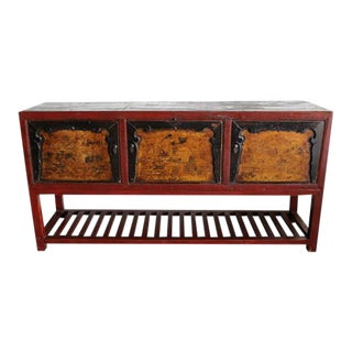 Antique Farm Table from Gansu China