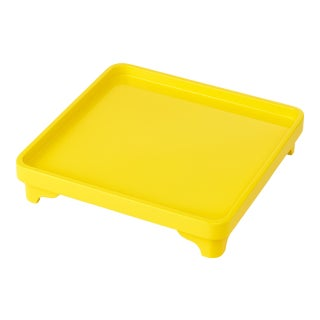 Miles Redd Collection Chinese Riser in Marigold Yellow For Sale