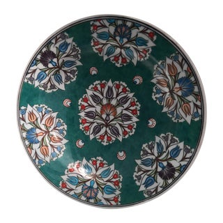 İsmail Yigit Ceramic - Cini Plate - İstanbul Turkish and Islamic Museum Replica For Sale