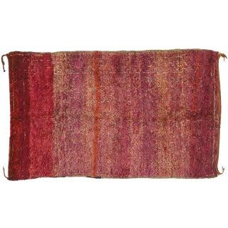 Vintage Beni M'Guild Moroccan Rug - 06'03 X 10'02 For Sale