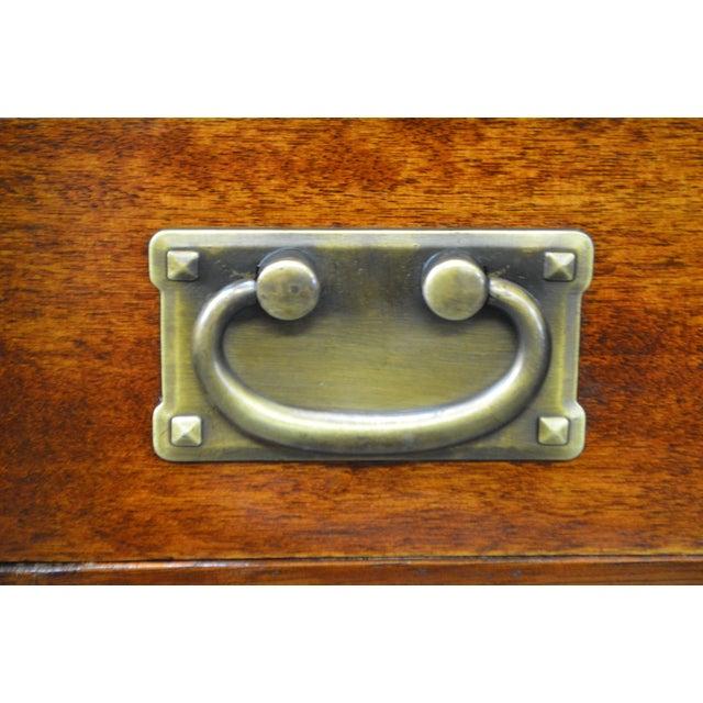 Danner Antique Mission Style Mahogany Slant Lid Writing Desk - Image 6 of 10