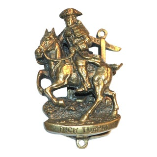 "Highwayman ""Dick Turpin"" Door Knocker"