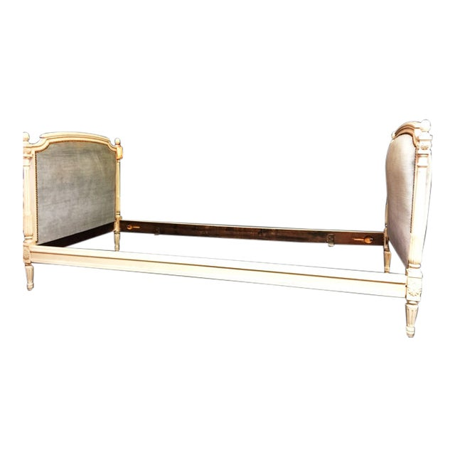 Vintage Mid Century Elegant Louis XVI Daybed For Sale