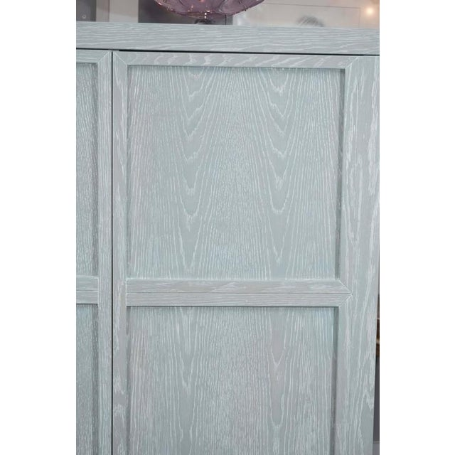 Venfield Custom Gray Cerused Bar For Sale - Image 4 of 10