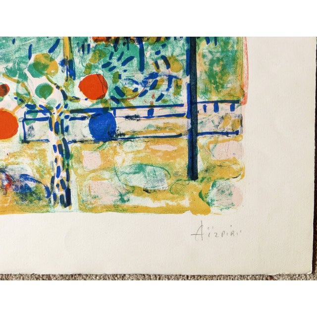 St. Tropez Lithograph by Paul Aizpiri - Image 3 of 5