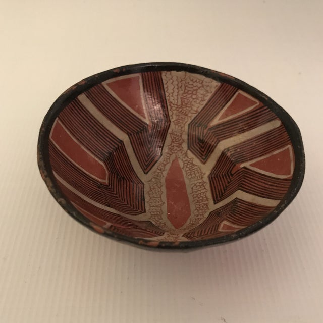 African Art Pottery Bowl For Sale - Image 3 of 13