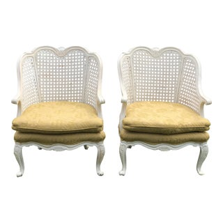 French Cane Chairs For Sale