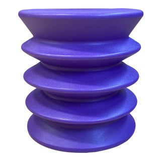 Room & Board Purple Ergo Stool For Sale