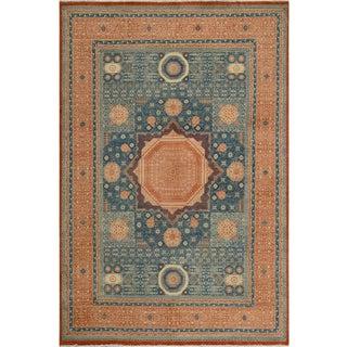 "Mamluk Ron Rust/Rust Wool Rug - 9'9"" X 13'6"" For Sale"