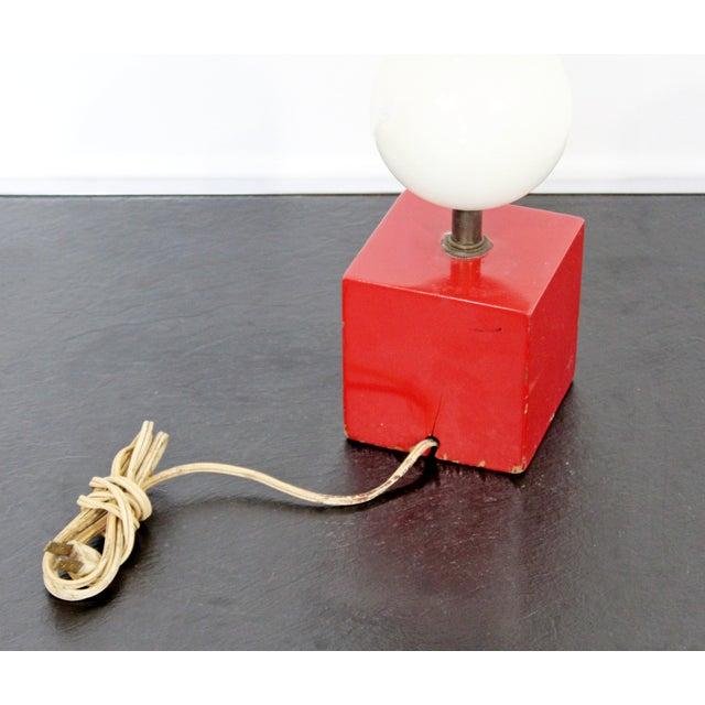 1960s Mid Century Modern Gerald Thurston Lightolier Lamp For Sale - Image 11 of 12