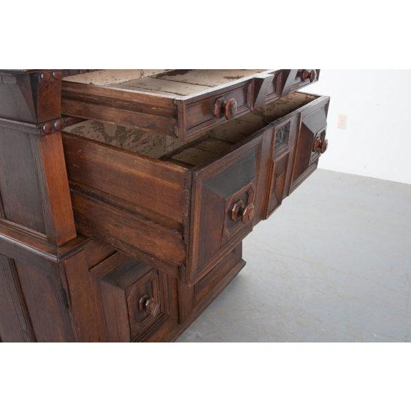 English 17th Century Charles II Oak Chest of Drawers For Sale - Image 9 of 13