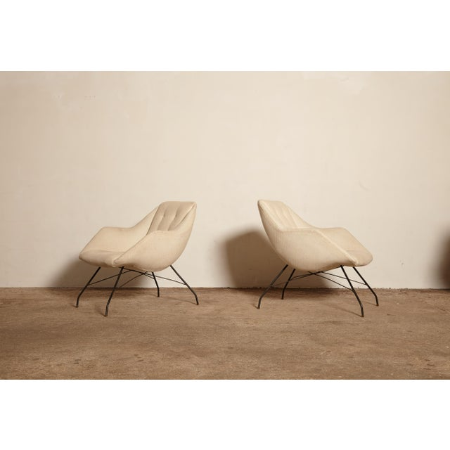 1950s Vintage Forma Brazil Carlo Hauner and Martin Eisler Shell 'Concha' Lounge Chairs - a Pair For Sale In Philadelphia - Image 6 of 13