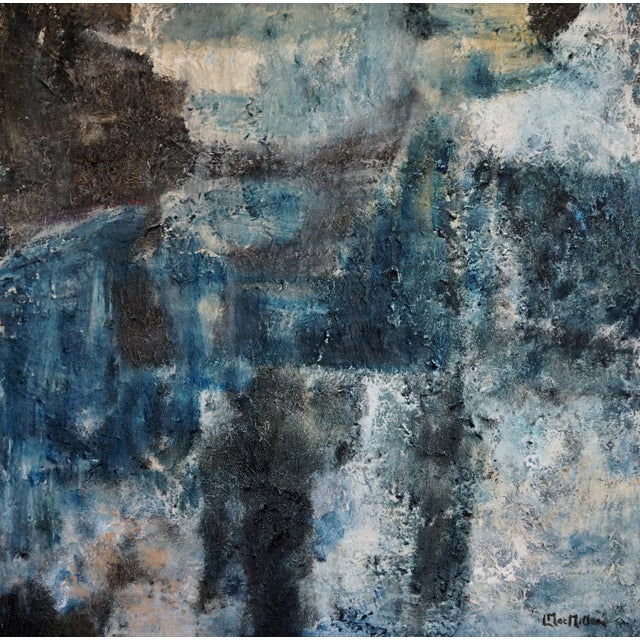Night Walk was created using the additives modeling paste and lava gel (actual tiny pieces of lava) in acrylic paint. The...