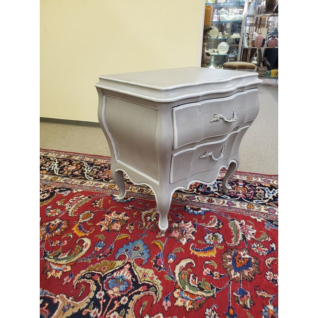 French Union National Painted Nightstand For Sale - Image 3 of 13
