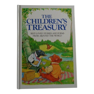"""The Children's Treasury of Best-Loved Stories & Poems"" Vintage Book For Sale"