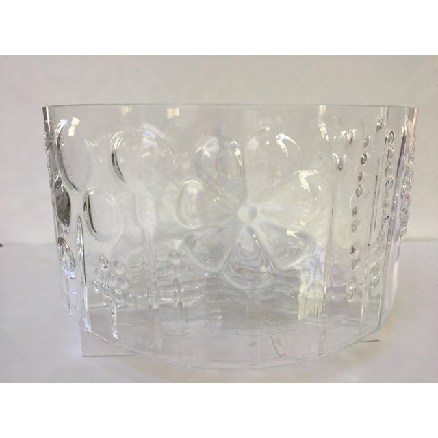 1960s Mid-Century Modern Oiva Toikka Flora Glass Bowl by Arabia Finland For Sale - Image 10 of 10