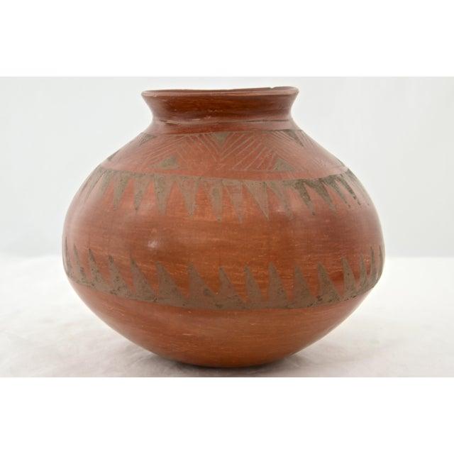 Southwestern Redware Pottery Urn - Image 4 of 7