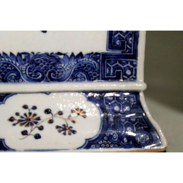 Late 18th Century Chinese Export Bough Pots - A Pair - Image 6 of 9