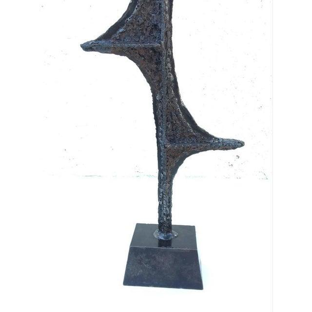 Brutalist Studio Sculpture by John De La Rosa - Image 5 of 7