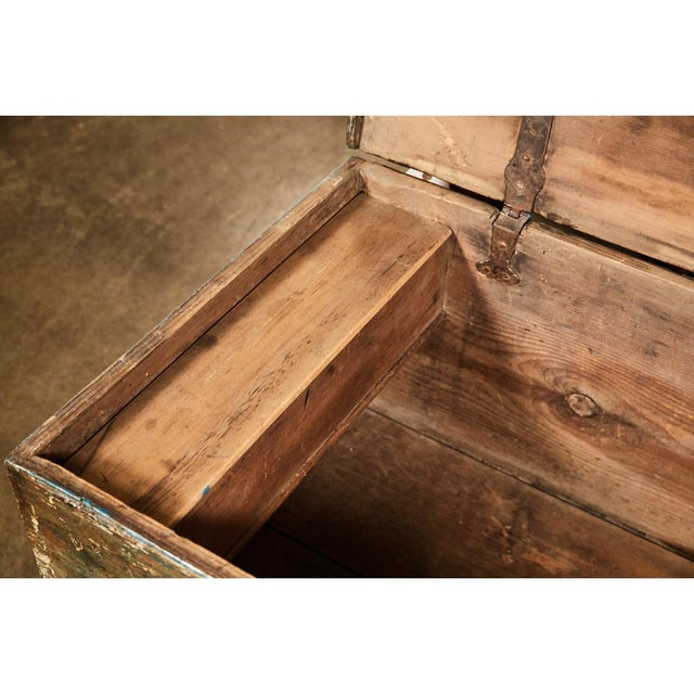 Pennsylvania Blanket Box/ Dowry Chest 3,250.00 This piece is a classic example of a Pennsylvania blanket box or dowry...