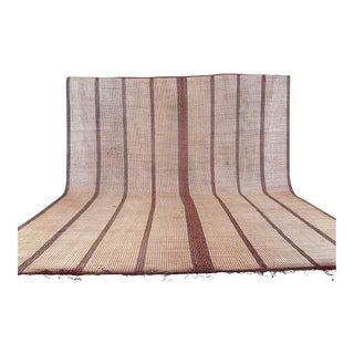 Large Striped Tuareg Mat For Sale