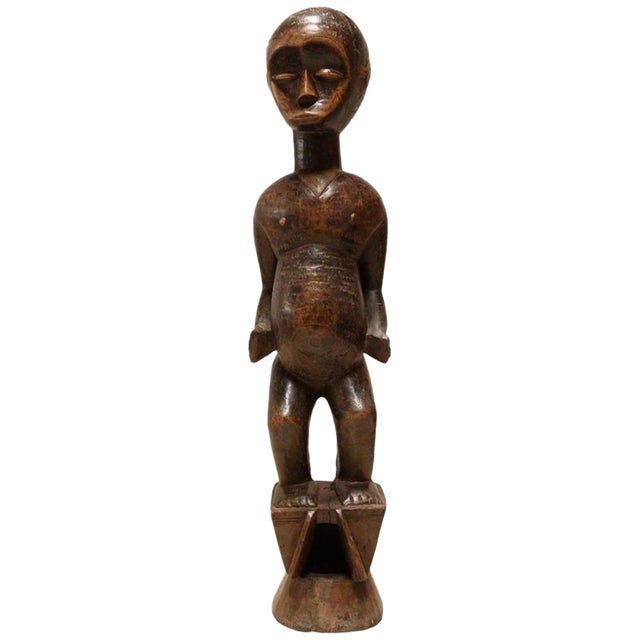 """""""Fertility"""" African Sculpture by the Lobi People For Sale"""