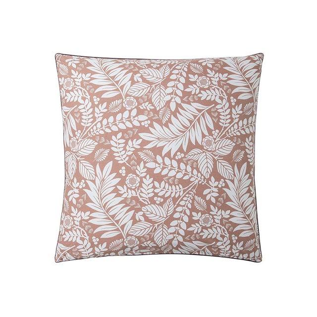 Alexandre Turpault Alexandre Turpault L'ile Rousse Pillow Sham, Euro For Sale - Image 4 of 4