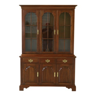 Knob Creek by Ethan Allen Cherry China Cabinet For Sale