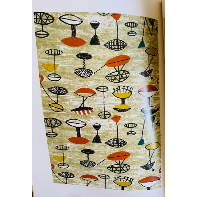 Vintage Victoria and Albert Museum Fifties Furnishing Fabrics For Sale In Columbus - Image 6 of 9