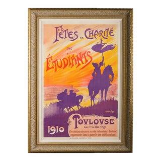 Fete De Charite Des Etudiantes French Opera Poster For Sale