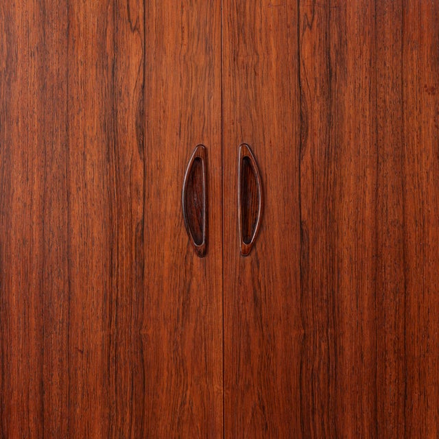 Danish Mid-Century Brazilian Rosewood Credenza/Sideboard For Sale In San Francisco - Image 6 of 8