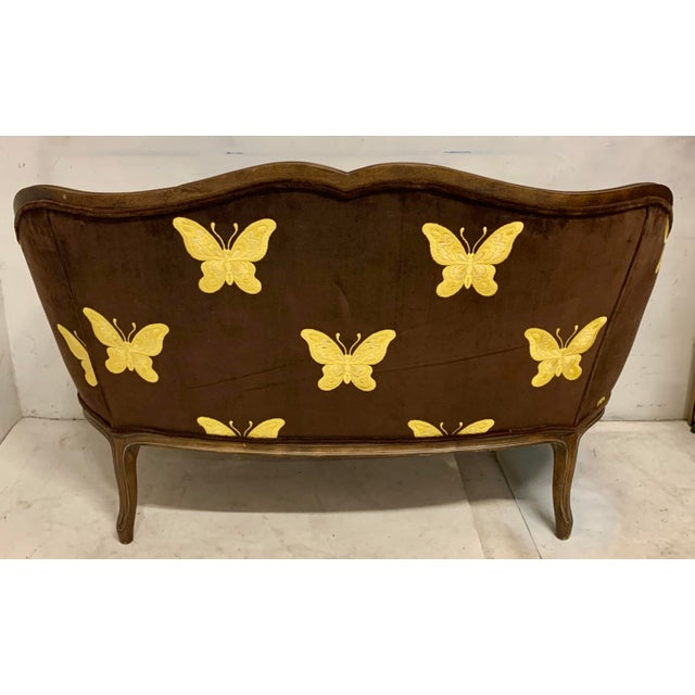 Traditional Meyer Gunther Martini French Style Settee For Sale - Image 3 of 8