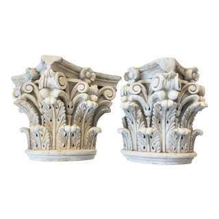 French Corinthian Fragments - a Pair For Sale