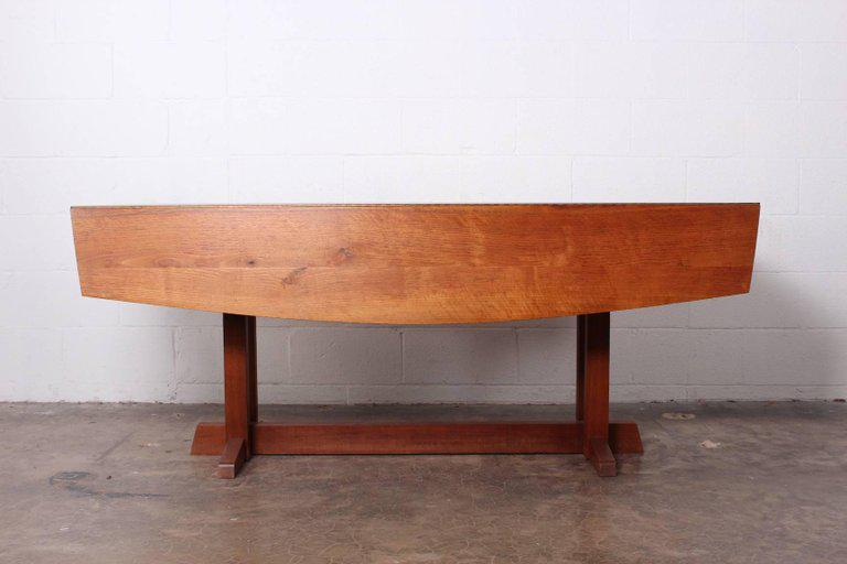 George Nakashima Frenchmanu0027s Cove Console / Dining Table, 1967   Image 2 Of  11