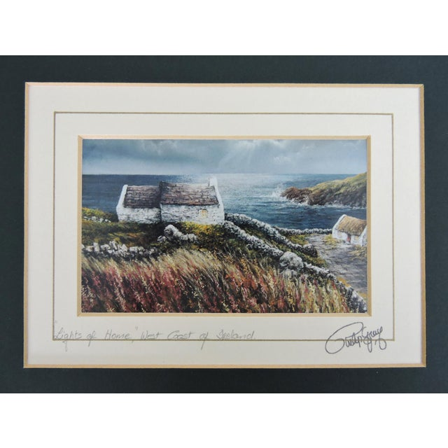 Signed Philip Grey Lithographs of Ireland - a Pair of Prints For Sale In Tampa - Image 6 of 10