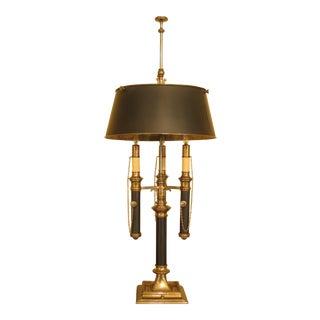 Chapman Brass & Black Regency Lamp