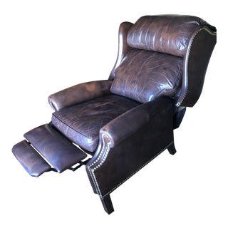 21st Century Hancock & Moore Leather Recliner For Sale