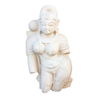 Yakshi Devi Stone Statue For Sale